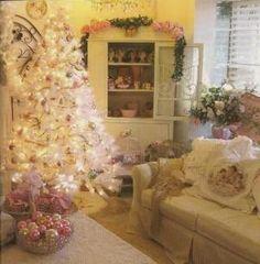 Shabby Chic Christmas by loretta