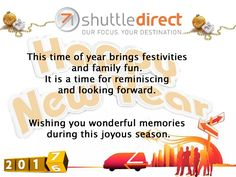 ShuttleDirect Wishes You a Safe Journey