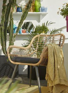 Le fauteuil de jardin Apolima en effet rotin offre un design naturel et tendance, parfait pour profiter du soleil ! #castorama #inspiration #decoration #ideedeco #amenagement #tendancedeco #jardin #abridejardin #decojardin  #rotin #fauteuilrotin #fauteuil fauteuilexterieur