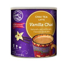 Big Train Vanilla Chai, 1.9-Pound Cans (Pack of 2) -- You can find out more details at the link of the image. (This is an affiliate link) #ChaiTea