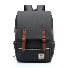 Fashion Canvas Men Daily Backpacks for Laptop Large Capacity Computer Bag Casual Student School Bagpacks Travel Rucksacks