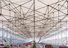 MMX architects: It took just three and a half days to erect this temporary 6,000-square-metre structure made with scaffolding and canvas in Mexico City's Zócalo plaza.