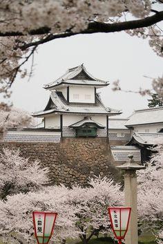 Kanazawa castle (?), Japan by richard evea | Flickr - Photo Sharing!