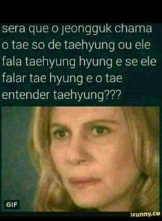 sempre pensei nisso Kpop Memes, Funny Memes, K Pop, Bts Photo, Nct Dream, Love Of My Life, Taehyung, Humor, Diy
