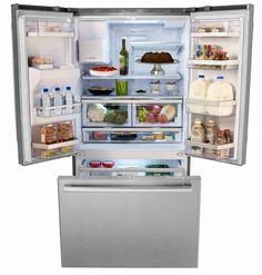 Buy Bosch Double Door Fridge Online In New Zealand From Able Appliances  Ltd. We Provide. Bottom Freezer RefrigeratorRefrigerator ...