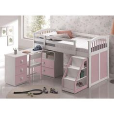 Bring your children's bedroom to life with our range of Bedroom Furniture. Shop bunk beds, children's beds, cabin beds & novelty beds for kids. Enjoy FREE and fast delivery. Childrens Bedroom Furniture, Childrens Beds, Bedroom Furniture Sets, Bedroom Themes, Bedroom Ideas, Cool Bunk Beds, Kid Beds, Pink Bedroom For Girls, Kids Bedroom