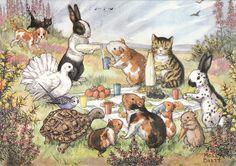 Molly Brett, illustration ,loved her books