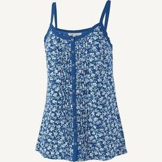 FAT FACE Ivy print camisole print by Rhiannon Southwell