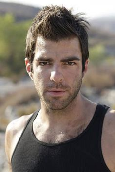 Okay, Zachary Quinto, I know we've already discussed this whole gay thing... but could you just hold me?  And could you take your shirt off first?