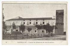 Cuartel de Infantería de San Francisco : Castellón (s.a.) - Santamaría Valencia, San Francisco, Painting, Art, Antique Photos, Art Background, St Francis, Painting Art, Kunst