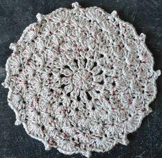 Christmas Shells Crochet Dishcloth – Maggie Weldon Maggies Crochet