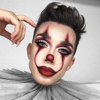 James Charles Pennywise clown makeup Halloween Make - up How to perfect 5 of top Halloween makeup looks Maquillage Halloween Clown, Halloween Makeup Clown, Halloween Makeup Looks, Halloween Halloween, Scarecrow Makeup, Pretty Halloween, Halloween Inspo, Halloween Ideas For Men, Halloween Makeup Tutorials
