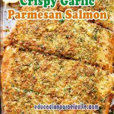 Easy Stovetop Sautéed Cinnamon Apples Recipe - Educacionparaelexito Parmesan Salmon, Salmon And Asparagus, Garlic Parmesan, Keto Chinese Food, Apple Recipes, Yummy Recipes, Oven Baked Salmon, Grilled Salmon Recipes, Thing 1