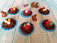 Nidi+di+Pasqua+al+cioccolato.
