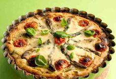 Ruispiirakka kesäkasviksilla Ricotta, Quiche, Pie, Breakfast, Desserts, Food, Torte, Morning Coffee, Tailgate Desserts