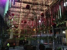 Hanging Decorations | Mistletoe, Baubles, and Lights - 1000 Kisses At Borough Market