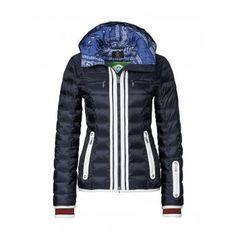 Bogner Josefa D Womens Ski Jacket in Navy