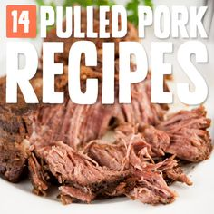 14 Down Home Pulled Pork Recipes- for mouthwatering porky goodness.