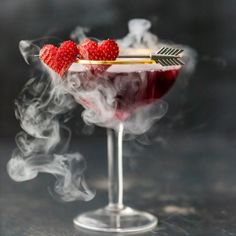 Valentine's Day isn't complete without toasting to love with these Love Potion #9 Martinis! VDay at it's best!