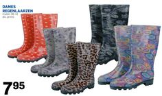 Wie zegt dat regenlaarzen niet leuk kunnen zijn :)! Deze zijn te koop bij de Action. Bekijk de folder op Reclamefolder.nl.