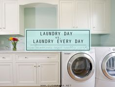 LAUNDRY DAY VS. LAUNDRY EVERY DAY – TWO METHODS THAT REALLY WORK