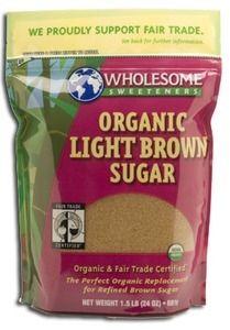 Wholesome Sweeteners Organic Light Brown Sugar, 24 oz.