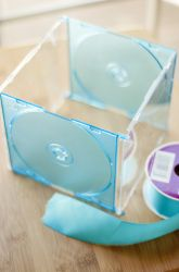 Middle School Recycled Crafts Activities: Get Organized With CD Case Drawer Dividers