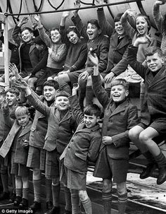 """Cruelty and hardship: Child migrants in the late 1940s. """"We disembarked ready for our new life. I was classified as 'a war orphan' and given to understand that my father was dead. About 20 of us were taken to Boys Town, a home for youngsters at Bindoon, about 60 miles away.We were immediately put to work. I learnt how to milk a cow within a week, and then we began constructing a new building. By the time I was 14, I was driving a truck. We'd work, sleep and eat. That was it"""" Laurie Humphreys"""
