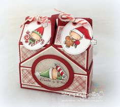 DT Thursday: Create a Set of Milk Cartons & Crate with Sandiebella! | stamping bella