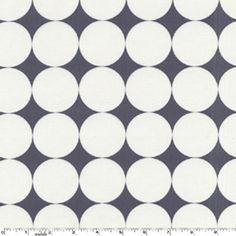Disco Dot in Charcoal