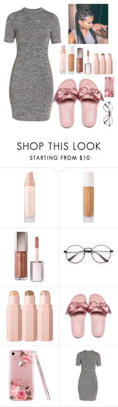 """""""fenty af"""" by serenityandclarity on Polyvore featuring Puma and French Connection"""