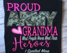 This is a Proud Army Grandma shirt. This is available in unisex tee, women's fit crew neck shirt, tank top and racer back tank top . This shirt is available in