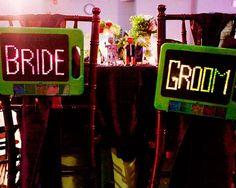 Bride & goom