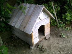 doghouse heart Labradoodle, Dog Houses, Dog Cat, Bird, Chicken, Cats, Outdoor Decor, Accessories, Gatos