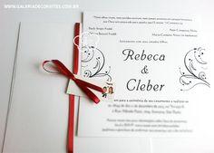 Criação de Convite de Casamento