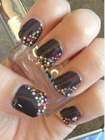 Easy tutorials and pictures of cute nail art designs for short nails. Floral nail art,striped nail art and dotted nail art for short nails Get Nails, Fancy Nails, Love Nails, How To Do Nails, Pretty Nails, Gorgeous Nails, Short Nails Art, Creative Nails, Nail Tutorials