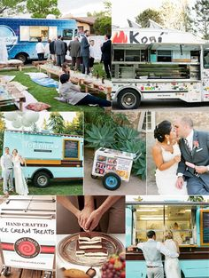 mm These weddings are making me hungry.  Food truck is the way to go!