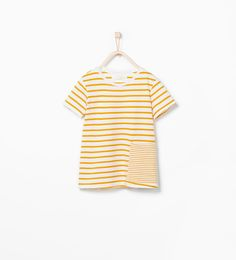 ZARA - ENFANTS - T-shirt en coton bio à rayures