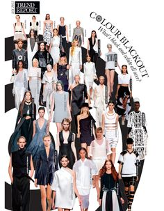 Spring/Summer 2013 Trend Report : Trend Report: Colour Blackout - Elle Canada