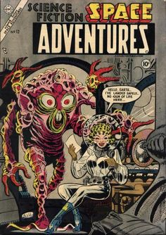 Science Fiction Space Adventures comic book.