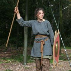 Caro of the Vicus in fighting spirit!