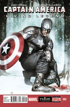 Captain America: Living Legend #2