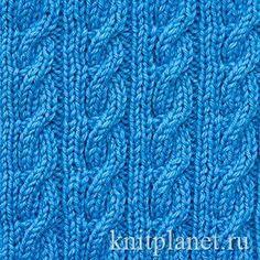 Узор спицами Двусторонний жгут - Узор Двусторонний жгут выглядит одинаково с лицевой и изнаночной стороны и прекрасно подойдет для вязания шарфов. Узор вяжется на основе резинки 2 x 2 при помощи наклонных петель. На этой странице вы найдете как схему узора так и его описание. Baby Knitting, Knitted Hats, Stitch, Pattern, Google Translate, Knitting Patterns, Tricot, Weaving Patterns, Crocheting