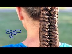Knotted Fishtale Braid - YouTube