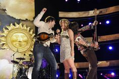 "The Band Perry performed ""Postcard From Paris"" and ""Fat Bottomed Girls"" at this year's CMA Music Fest!"