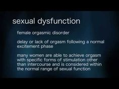 Sexual Problems - Sexual concern causing distress can be classified as a dysfunction and can be lifelong or begin at any age. It can be situational or constant. Sexual disorders can affect men and women and are classified into four categories: desire disorders, arousal disorders, orgasmic disorders, and sexual pain disorders.