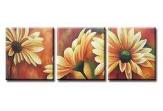 Модульные картины цветы.