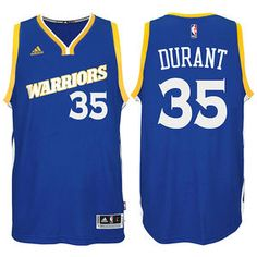 bbe4b8a8 Kevin Durant Jersey: adidas Royal Stretch Crossover #35 Golden State  Warriors NBA Swingman Jersey
