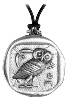 reminds me of the necklace i always wear. =) Athena's Owl Necklace