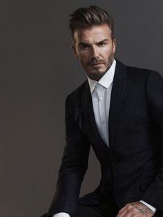 Model David Beckham Photographer Fredrik Bond Image courtesy of H&M